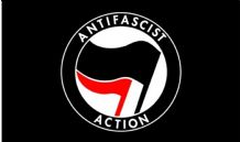 ANTI FASCIST ACTION (ANTIFA) - 5 X 3 FLAG